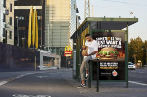 Burger King turns McDonald's into their own takeaway restaurants